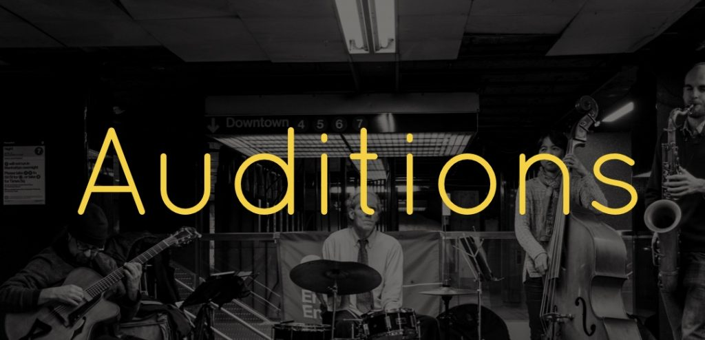 Auditions Cover Image